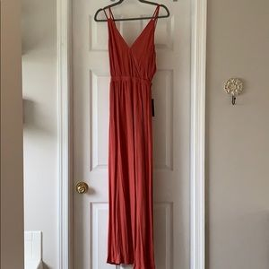 NWT Open Back Maxi Dress